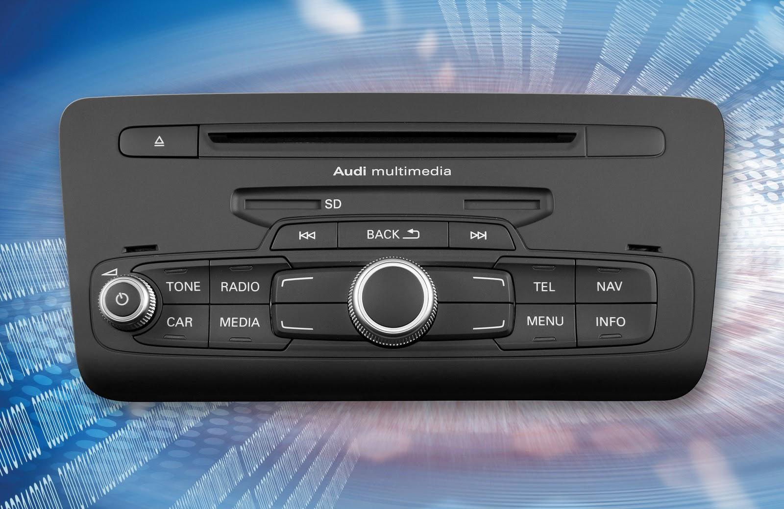 voiture communicante delphi fournit audi une plateforme innovante de radio navigation. Black Bedroom Furniture Sets. Home Design Ideas