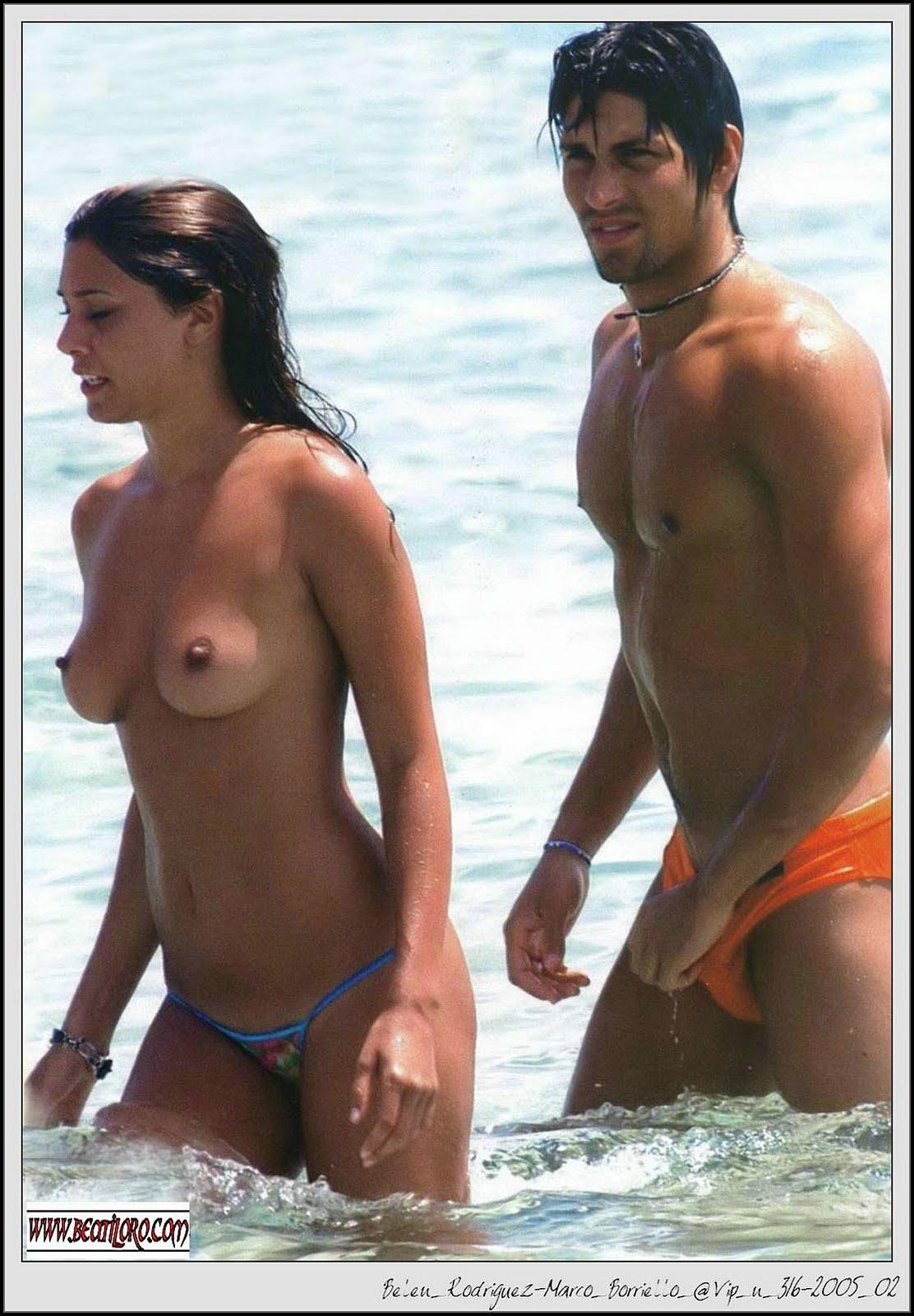 Belen Rodriguez  nackt