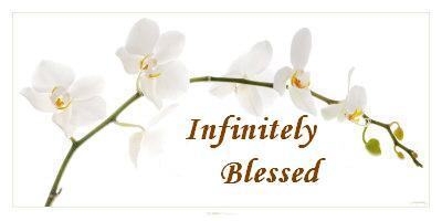 Infinitely Blessed
