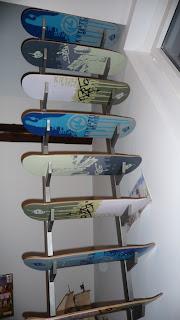 Skateboard Stairs: Ansicht von unten
