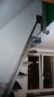 Skateboard Stairs: Seitenansicht