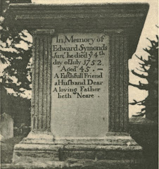 End view of Edward's tomb, A1 on chart