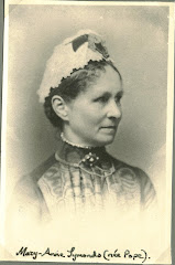 Mary Anne Symonds (nee Pope)1831-1912. spouse of E15 Daniel Symonds