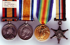 Henry's Medals, obverse, note the Kimberley Defence clasp, and the Kimberley Star