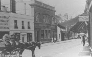 High Street view of brewery, c 1908