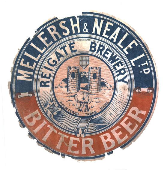 Bitter Beer Cask label circa 1925.