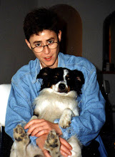 Lunska y su perro Federico