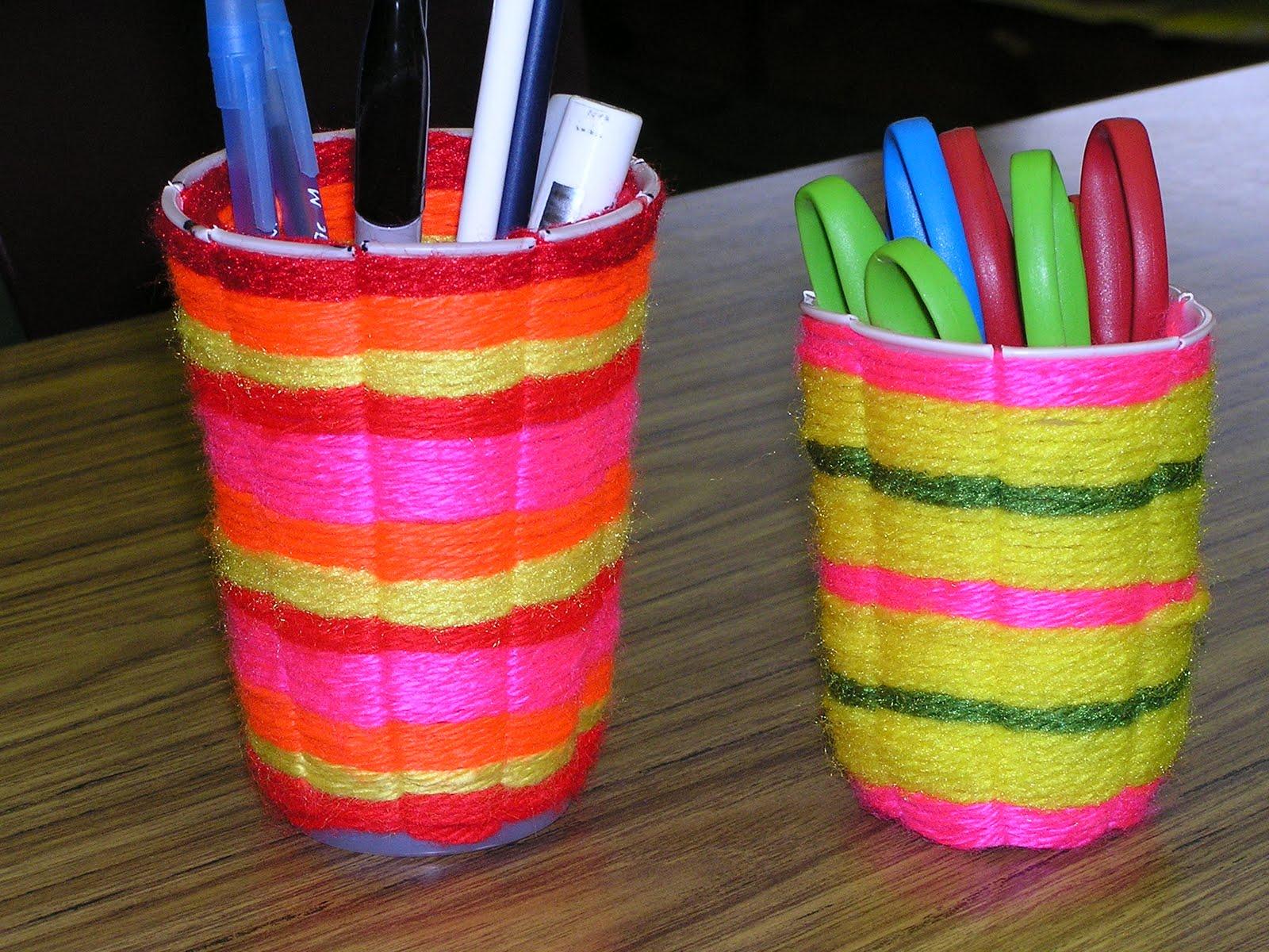 Basket Weaving For Elementary Students : B art z elementary cup weaving