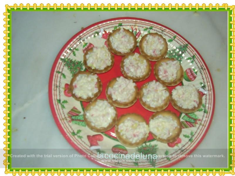 La cocina de luna canape de relleno de cangrejo for Canape de cangrejo