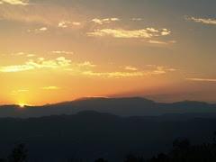 Pôr do Sol na Serra do Marão