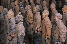 Escultures: Els guerres de Xian