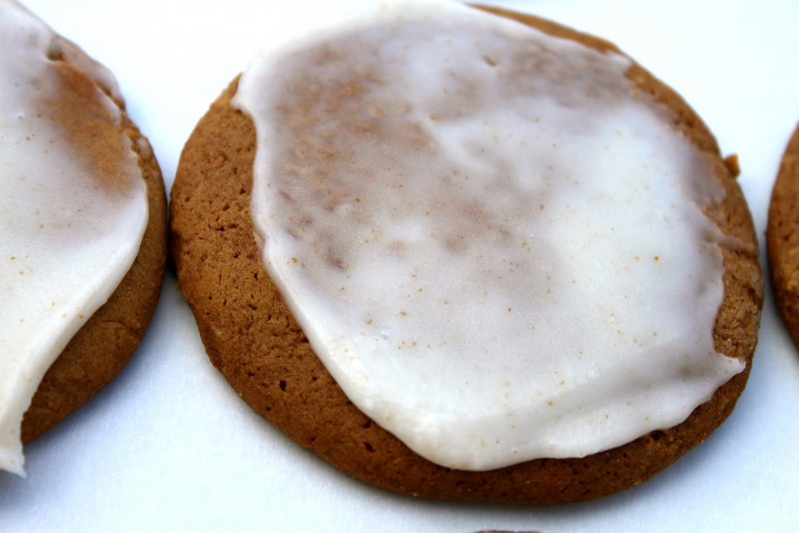 cookies are soft, like a sugar cookie, with a little brown butter ...