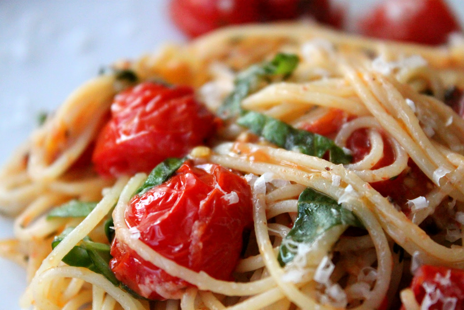 A bountiful kitchen barefoot contessa capellini with Ina garten capellini with tomatoes and basil