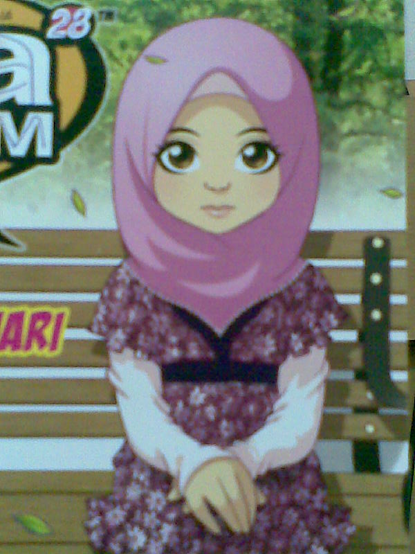 wallpaper kartun islam. wallpaper kartun islam.