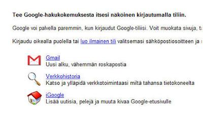 Luo uusi google tili