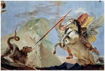 Bellerophon mata a la Quimera