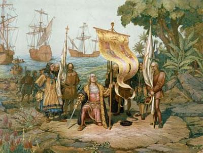 Desembarque de Cristóbal Colón al Nuevo Mundo