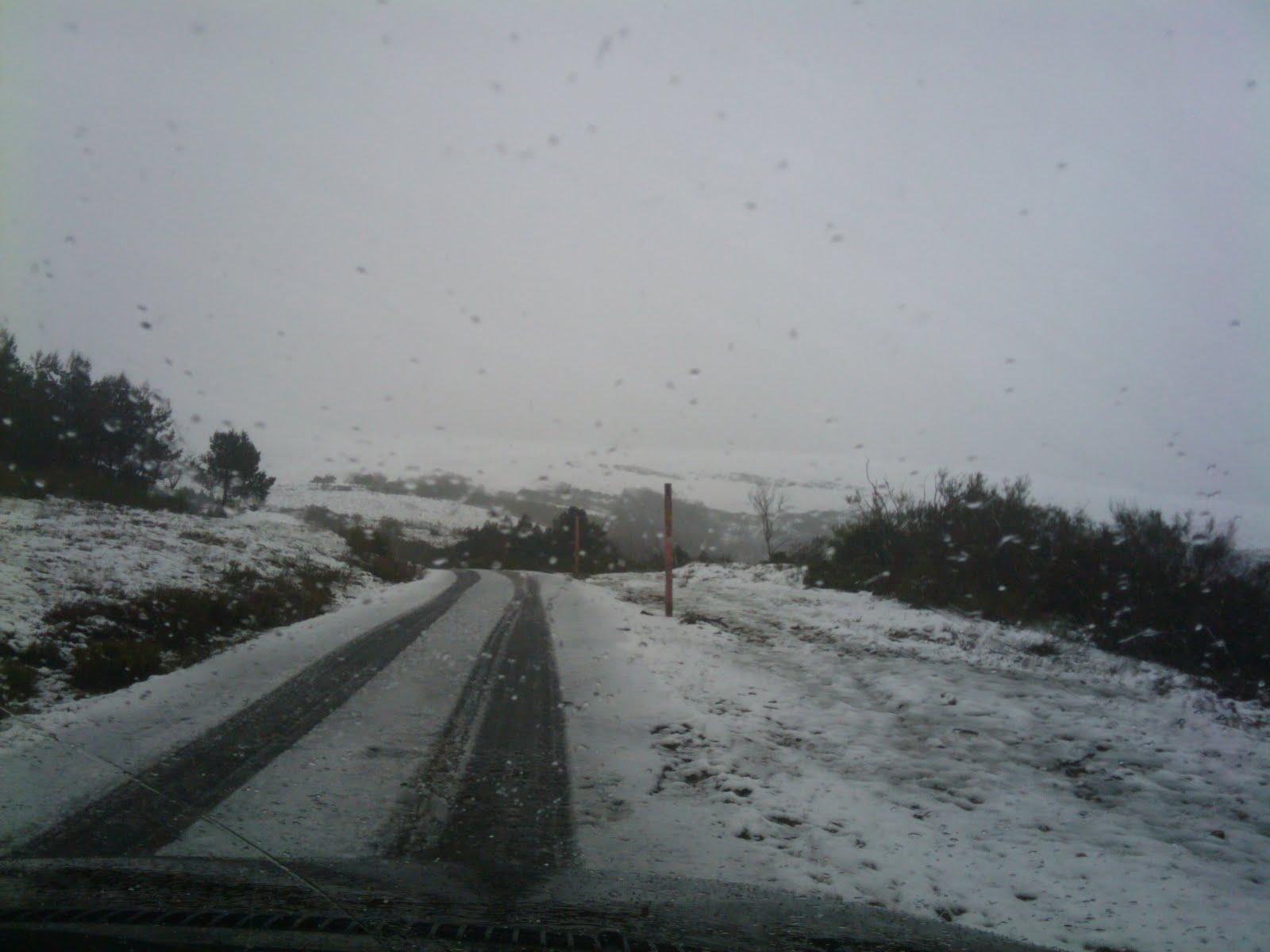 Primeras nieves en pic n blanco acampalia for Blanco nieve