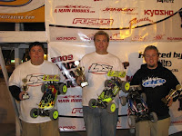 Billy Fischer took first place and Chris Weeler took third place in Expert Buggy.