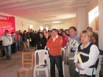 ELECCIONES SUTEP SANTIAGO DE CHUCO