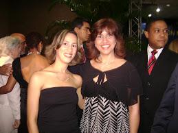 Primera Dama junto a Periodista