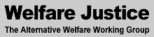 Alternative Welfare Working Group