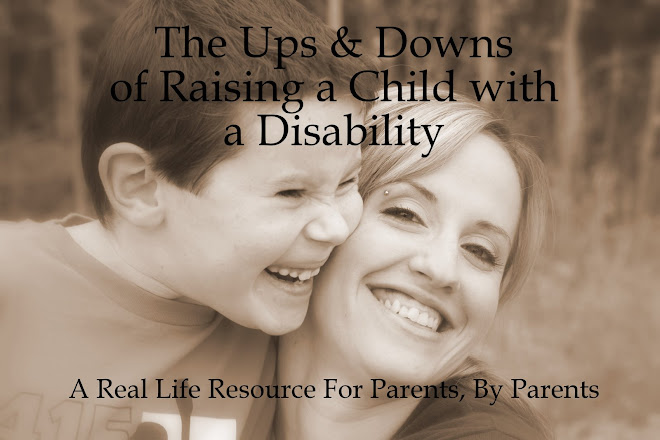 the ups & downs of raising a disabled child