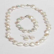 Iridescent Coin Pearls  (Click on Picture to see more)