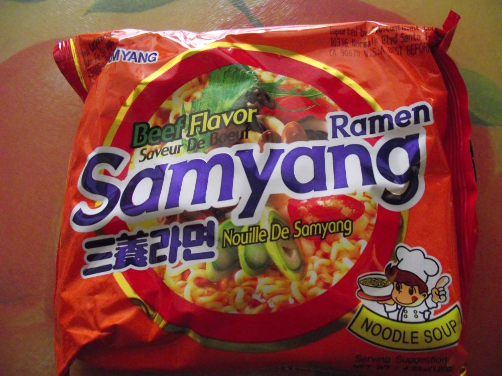 Ramenator samyang beef flavor ramen for Asian cuisine hoover al