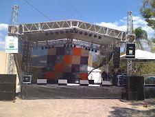 Palco do Festival de Cavalcante