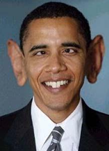 lol obama ears