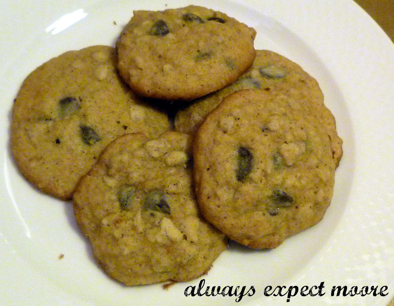 Pumpkin Week – Pumpkin Cookies