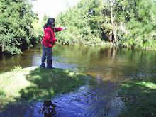 pesca en rio Cilwe