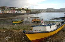 bote y chalana  en Ancud Isla de Chiloé