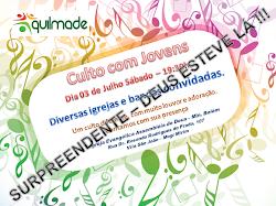 CULTO JOVENS - 03 DE JULHO