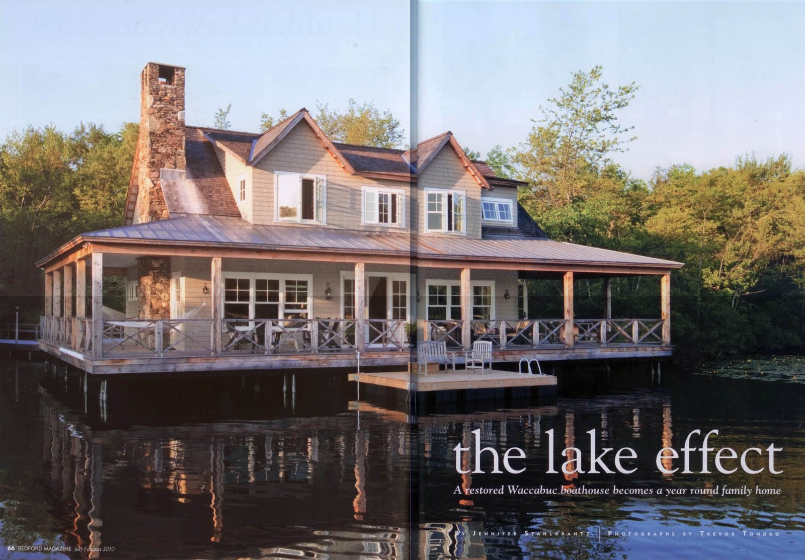 design studio B: now this is a lake house... on