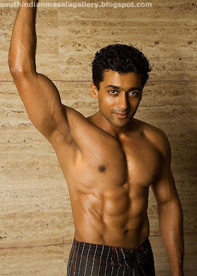Tamil Actor Surya S Si Pack Abs