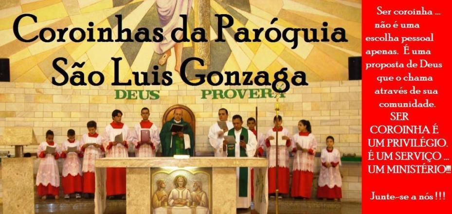 COROINHAS SÃO LUIS GONZAGA  -  BARRETOS/SP
