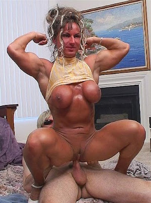 Are not Muscle girl anal sex variants