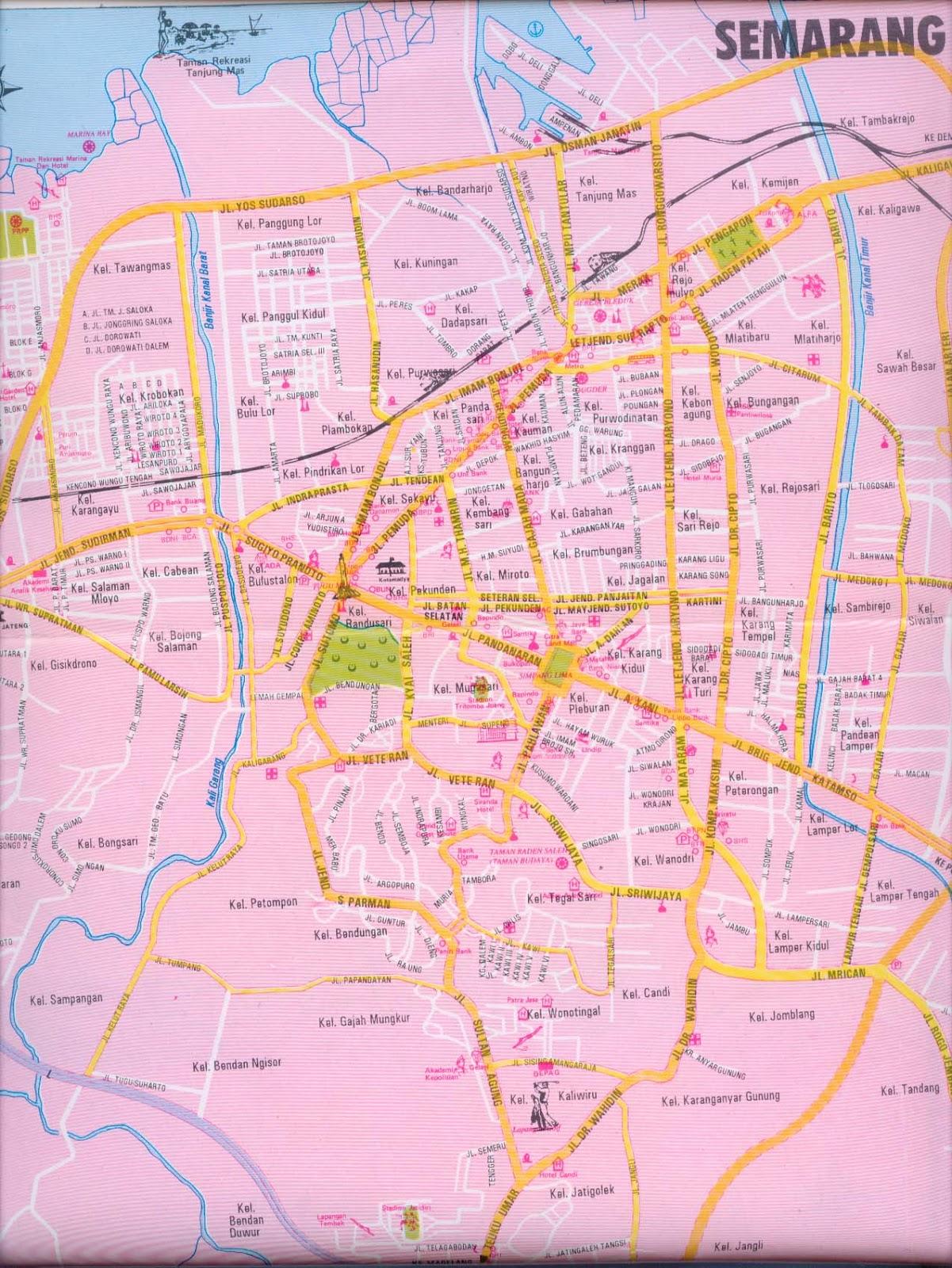 Semarang Indonesia  city photos : Semarang is a caemarang city maps. pital city of central jawa province ...