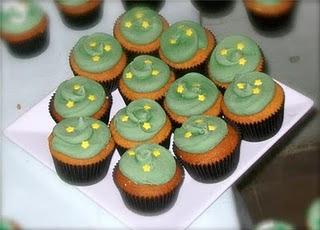 CUPCAKES+VERDE+AMARELO+1 Verde e Amarelo!