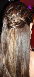 68 Penteado com trança...!