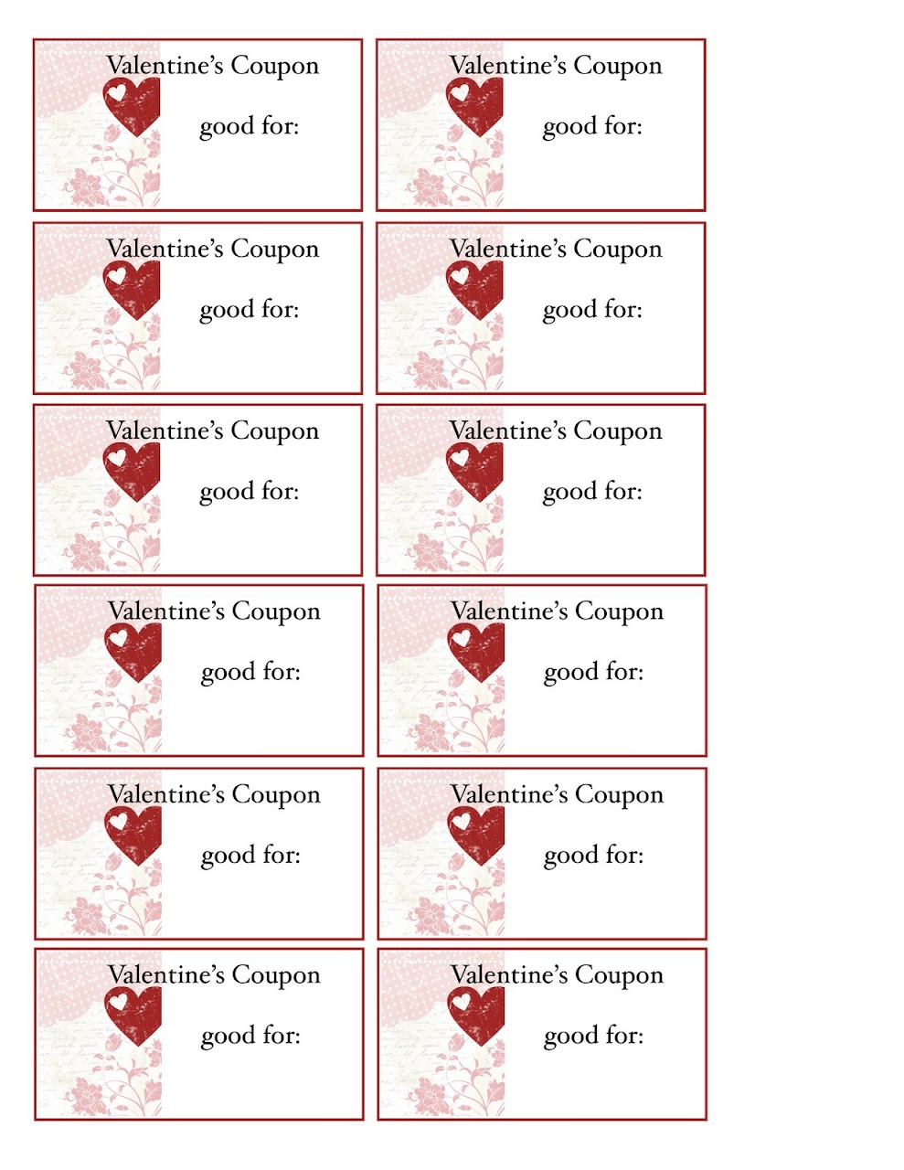 making your own coupons