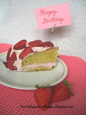 torta golosa di fragole