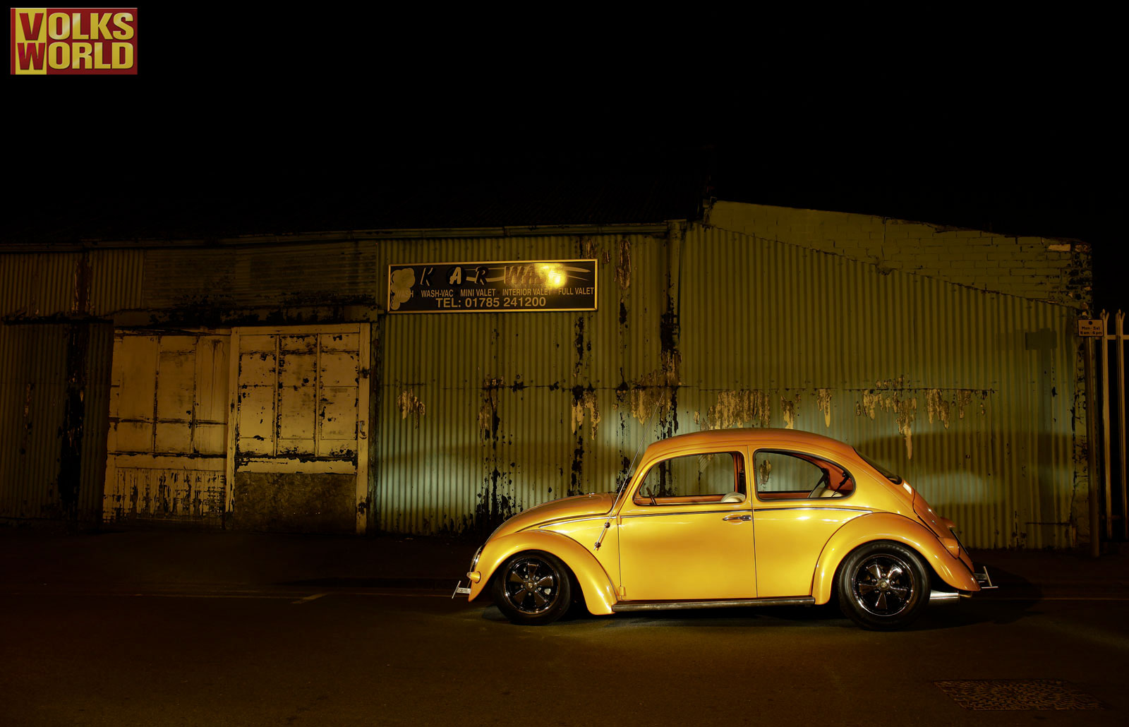 BR Look Wallpaper Orange Cal Beetle From The UK