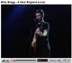Billy Bragg A New England Video