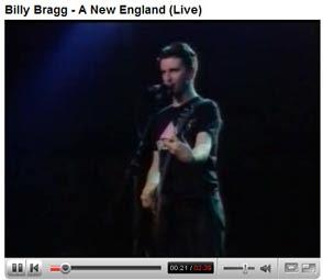 Billy Bragg A New England Video
