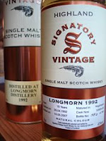 longmorn 1992 signatory