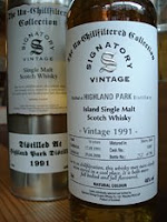 highland park 1991 signatory
