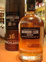 bruichladdich 16 years old 'bourbon cask'